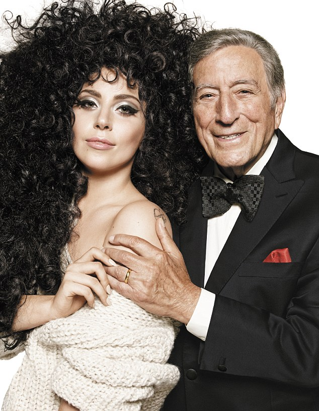 Firm friends: Lady Gaga and Tony Bennett star together in the H&M Christmas campaign. They have become firm friends since releasing an album together earlier this year