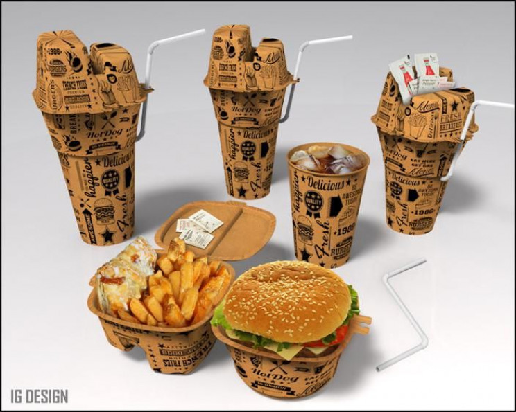 innovative packaging fast food