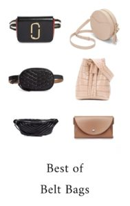 How to wear the belt bag & best belt bags ( designer bum bags, fanny packs under $100) - Pin to read later on Modersvp.com. By French Fashion Blogger Julia Comil for Mode Rsvp