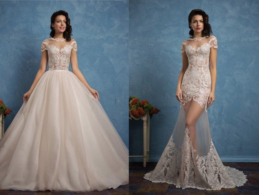 какие бывают фасоны свадебных платьев фото официальной