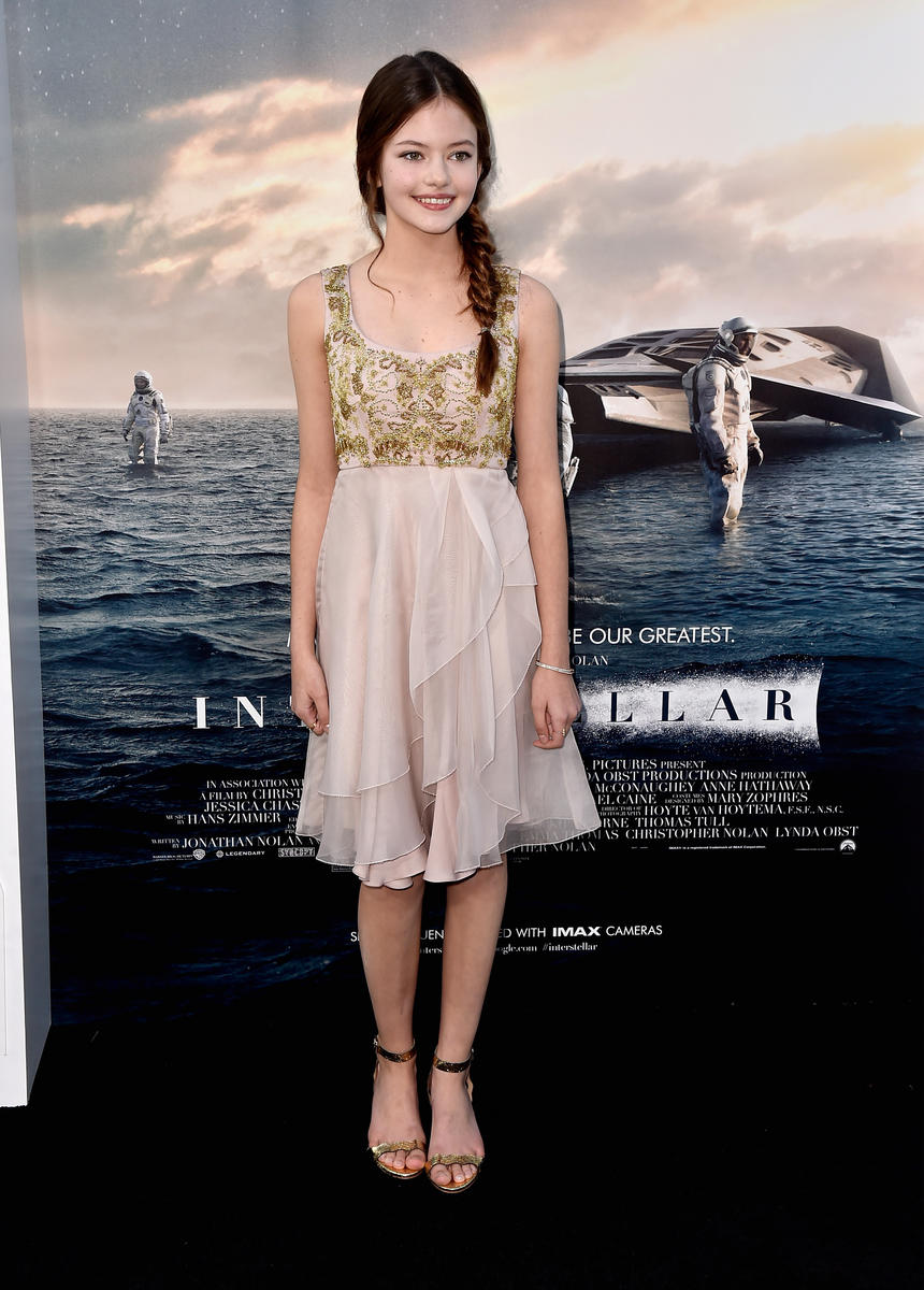 HOLLYWOOD, CA - OCTOBER 26: Actress Mackenzie Foy attends the premiere of Paramount Pictures