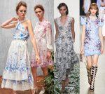 Платье в цветочек 2018 – Платья в цветочек на весну и лето 2018