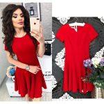 Красные платья 2018 фото новинки – Ой!